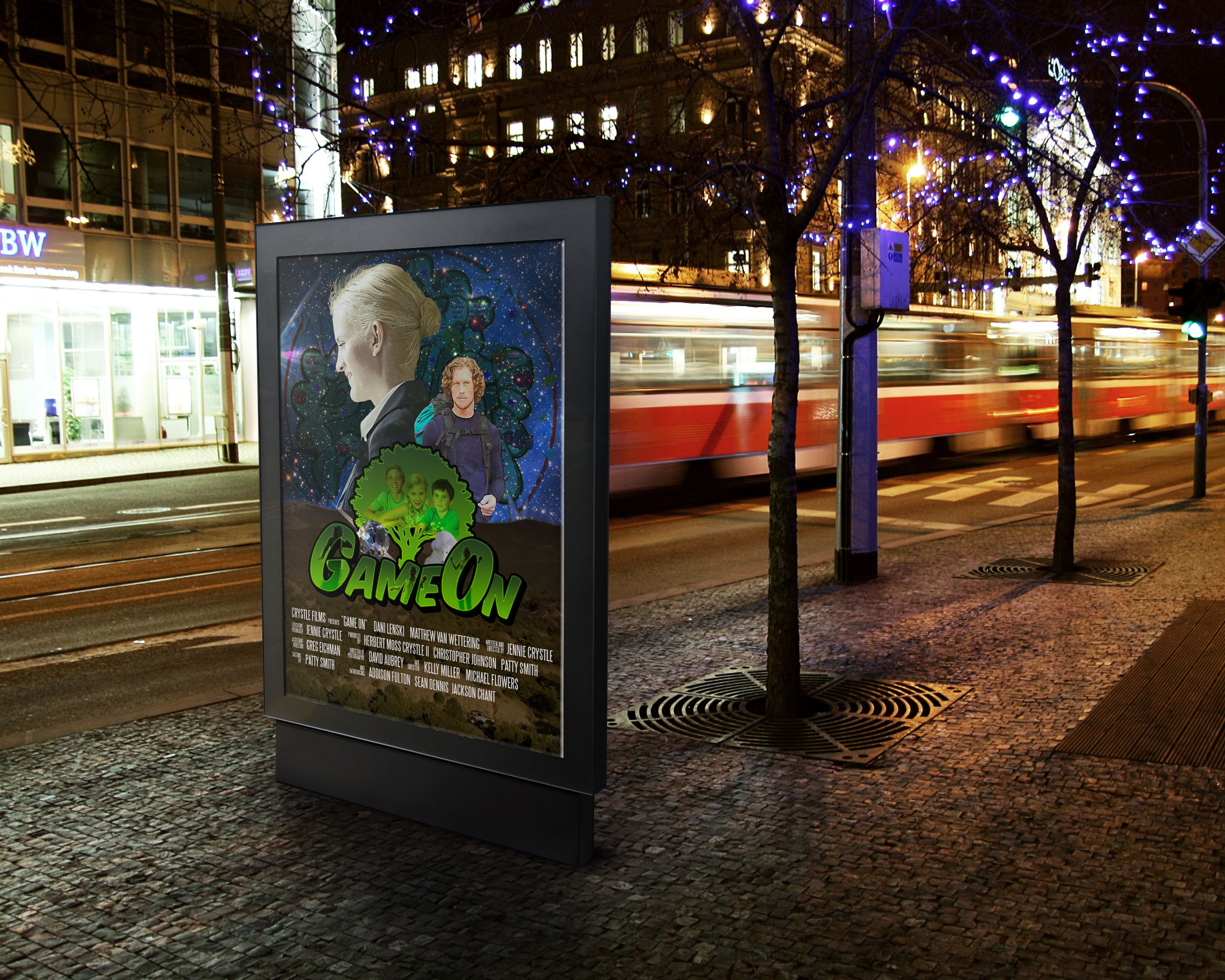 Game On Bus Stop